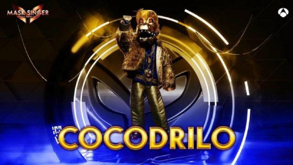 Cocodrilo, máscara de 'Mask Singer 2'