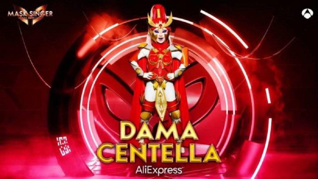 Dama Centella, máscara digital de 'Mask Singer 2'