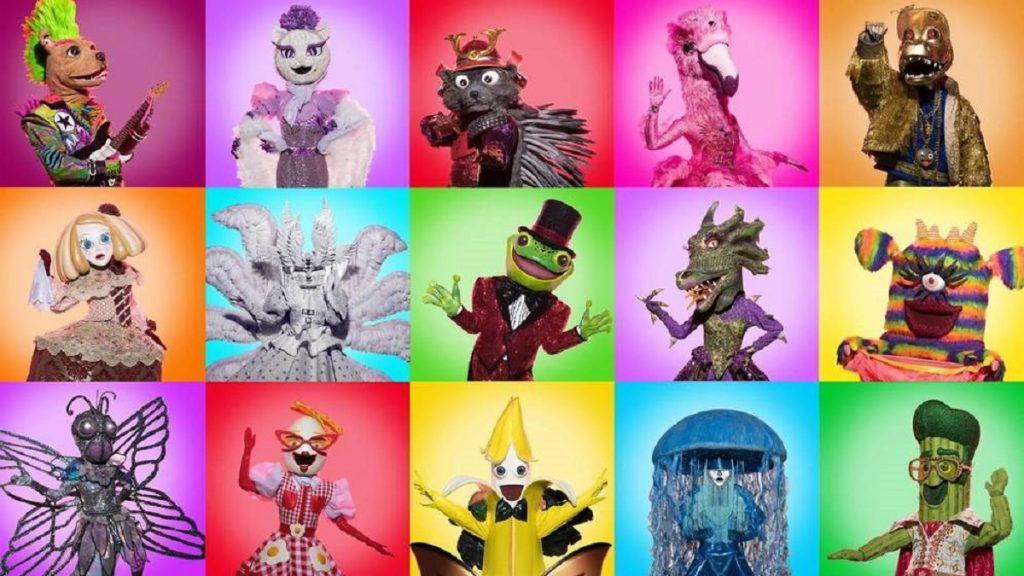 Estas son las máscaras de Mask Singer 2