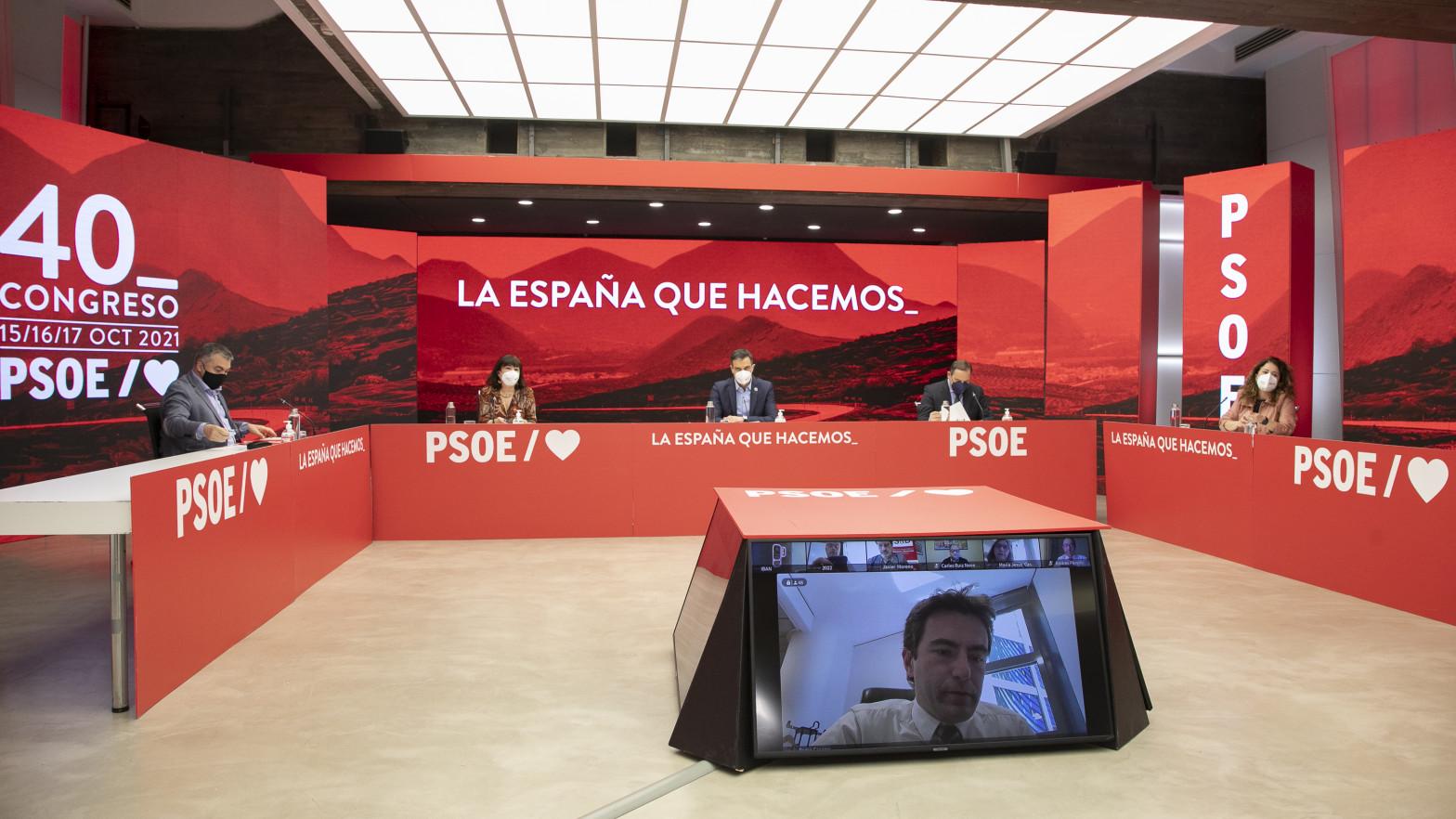 La Gestora del PSOE de Madrid se reúne por primera vez tras la debacle del 4-M