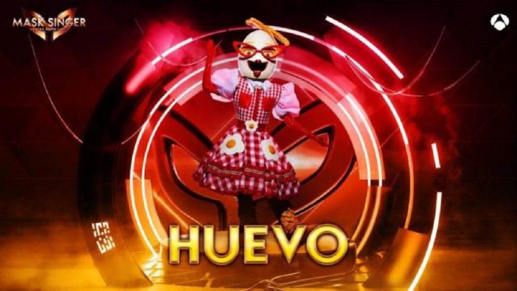 Huevo, máscara de 'Mask Singer 2'