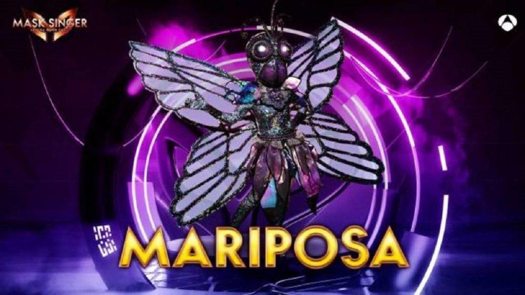 Mariposa, máscara de 'Mask Singer 2'