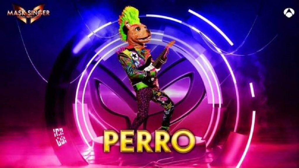 Perro, máscara de 'Mask Singer 2'