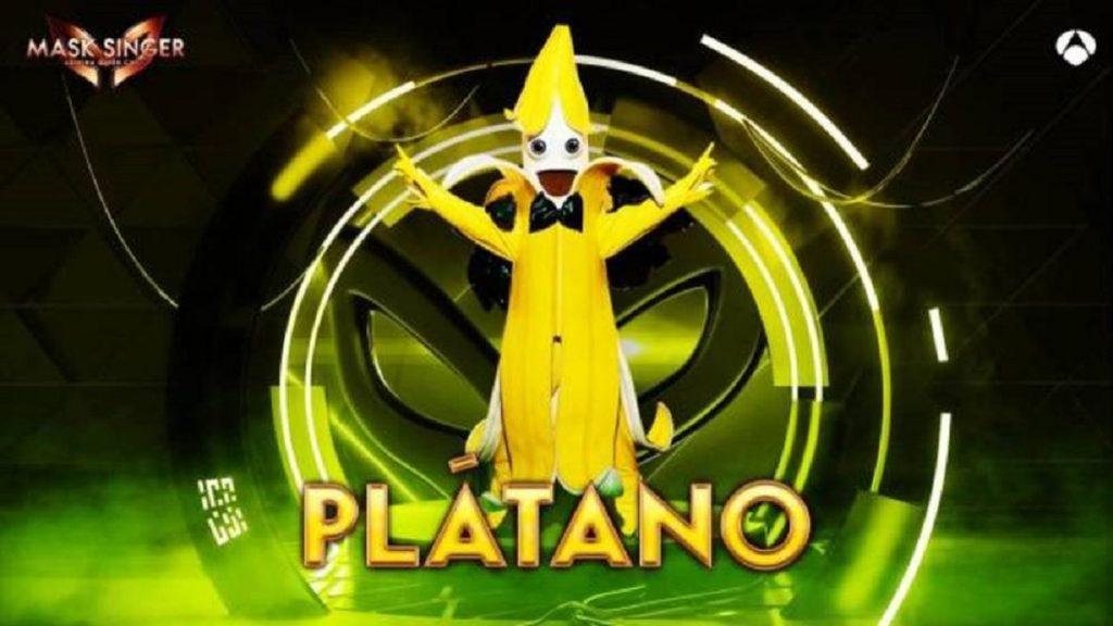 Plátano, máscara de 'Mask Singer 2'