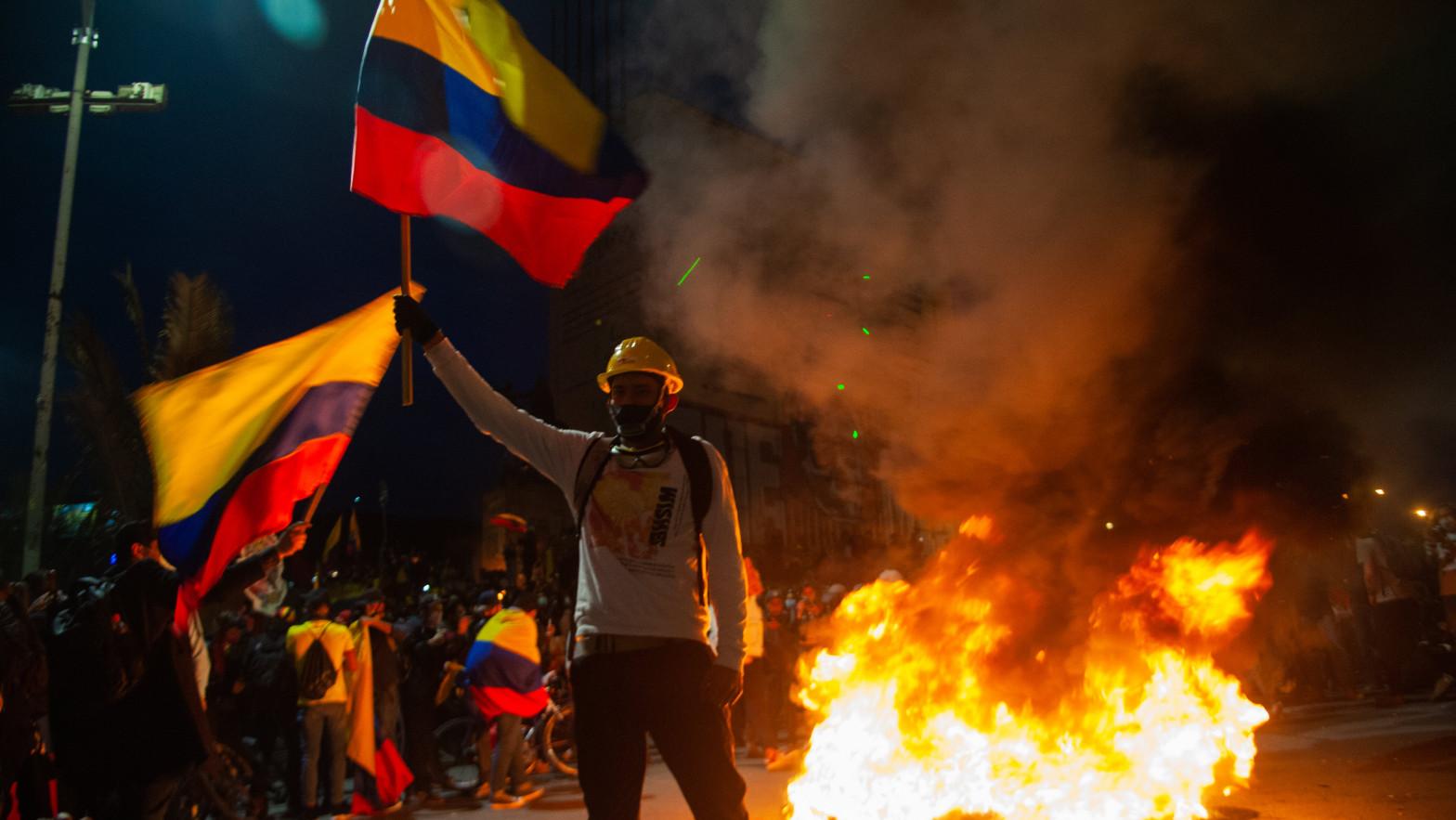Arrancan las negociaciones entre el Gobierno y el Comité del Paro Nacional en Colombia
