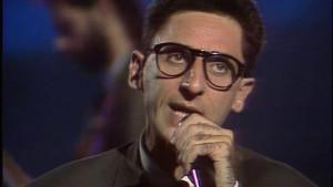 Franco Battiato, actuando en TVE a finales de los ochenta