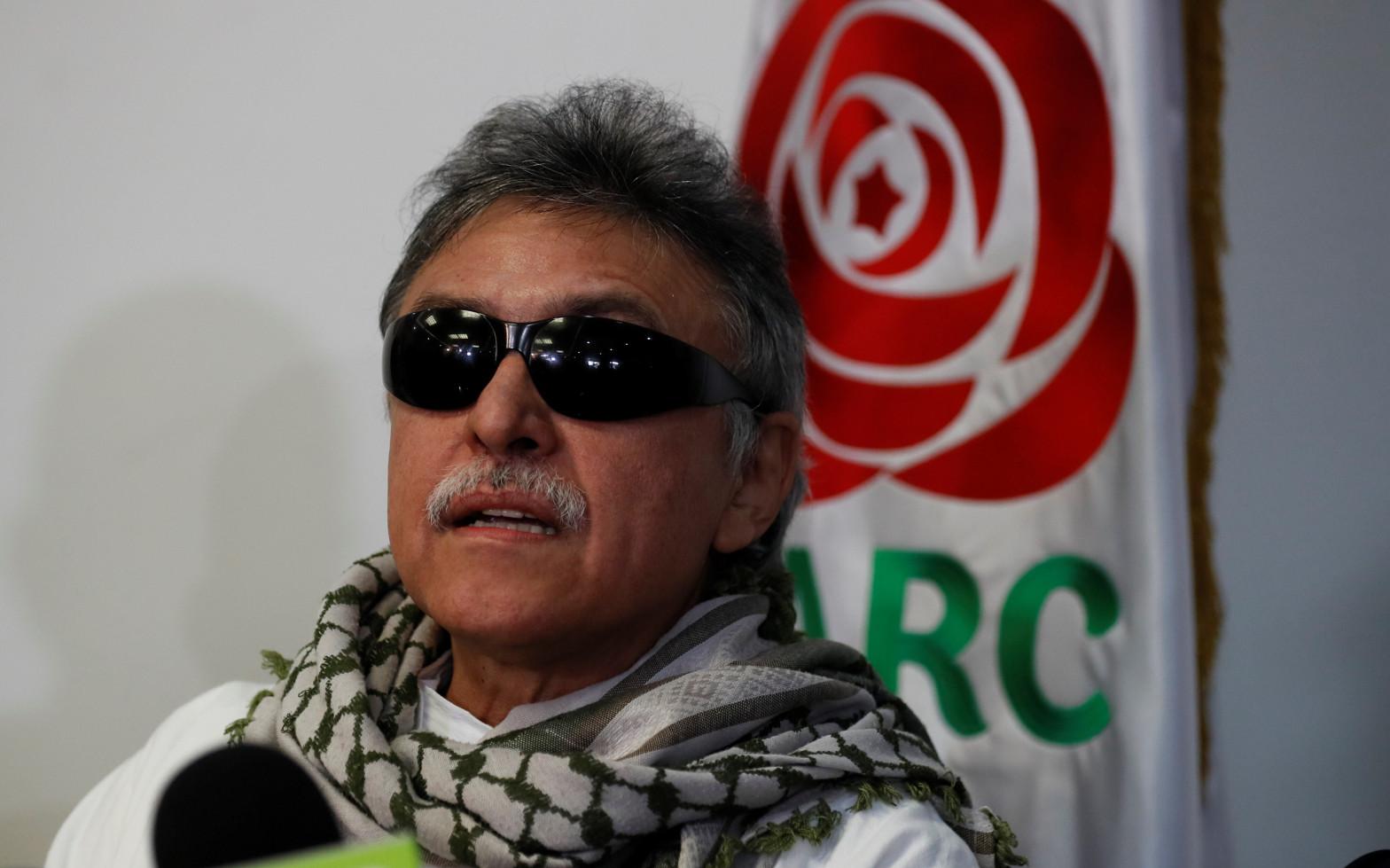 Seuxis Paucias Hernández Solarte, alias 'Jesús Santrich'.
