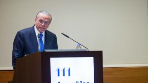 Presidente de Criteria Caixa y Fundación Bancaria La Caixa, Isidre Fainé
