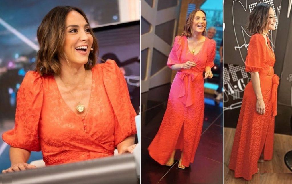 Tamara Falcó llevó un bonito vestido con el que puedes convertirte en la invitada de boda perfecta