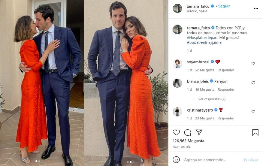 Tamara Falcó y su novio Íñigo Onieva, ajenos a los rumores de crisis e infidelidad