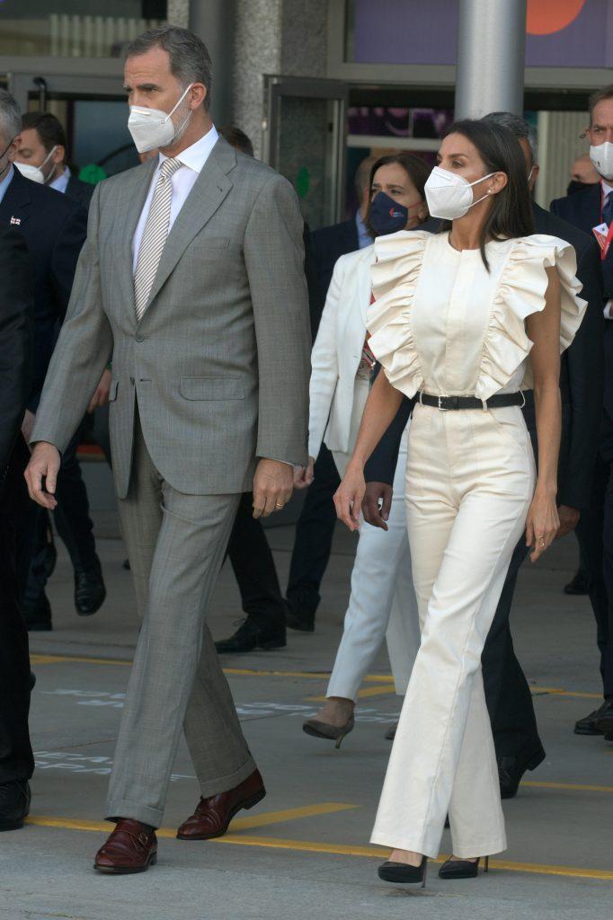 Los reyes Felipe y Letizia inauguran Fitur 2021