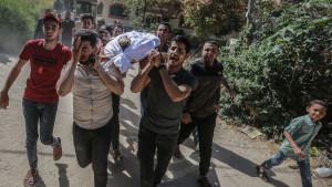 Asciende a 228 la cifra de muertos por los ataques de Israel contra la Franja de Gaza