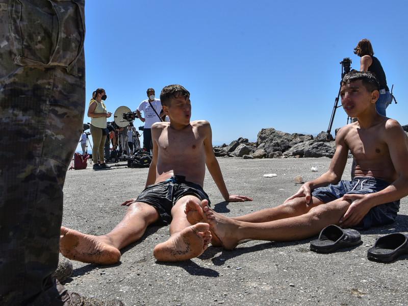 Andalucía acogerá a 13 de los menores no acompañados que llegaron a Ceuta