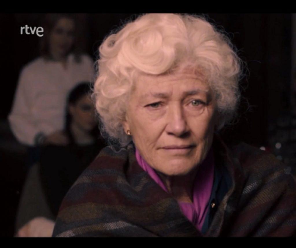 Ana Duato, interpreta a Mercedes, en la serie Cuéntame cómo pasó