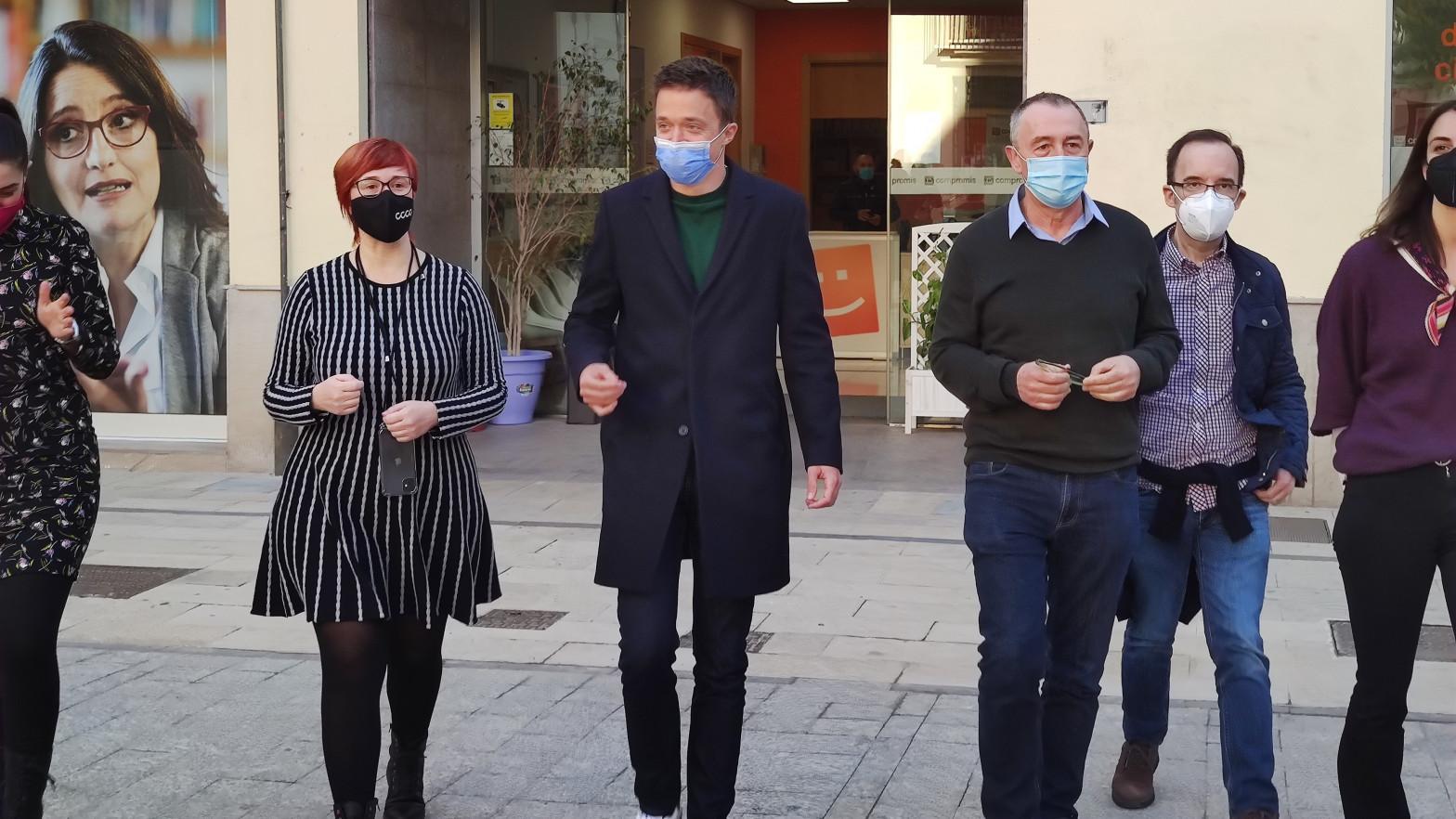 Valencia se convierte en epicentro de la 'guerra del futuro' entre Podemos y Más País