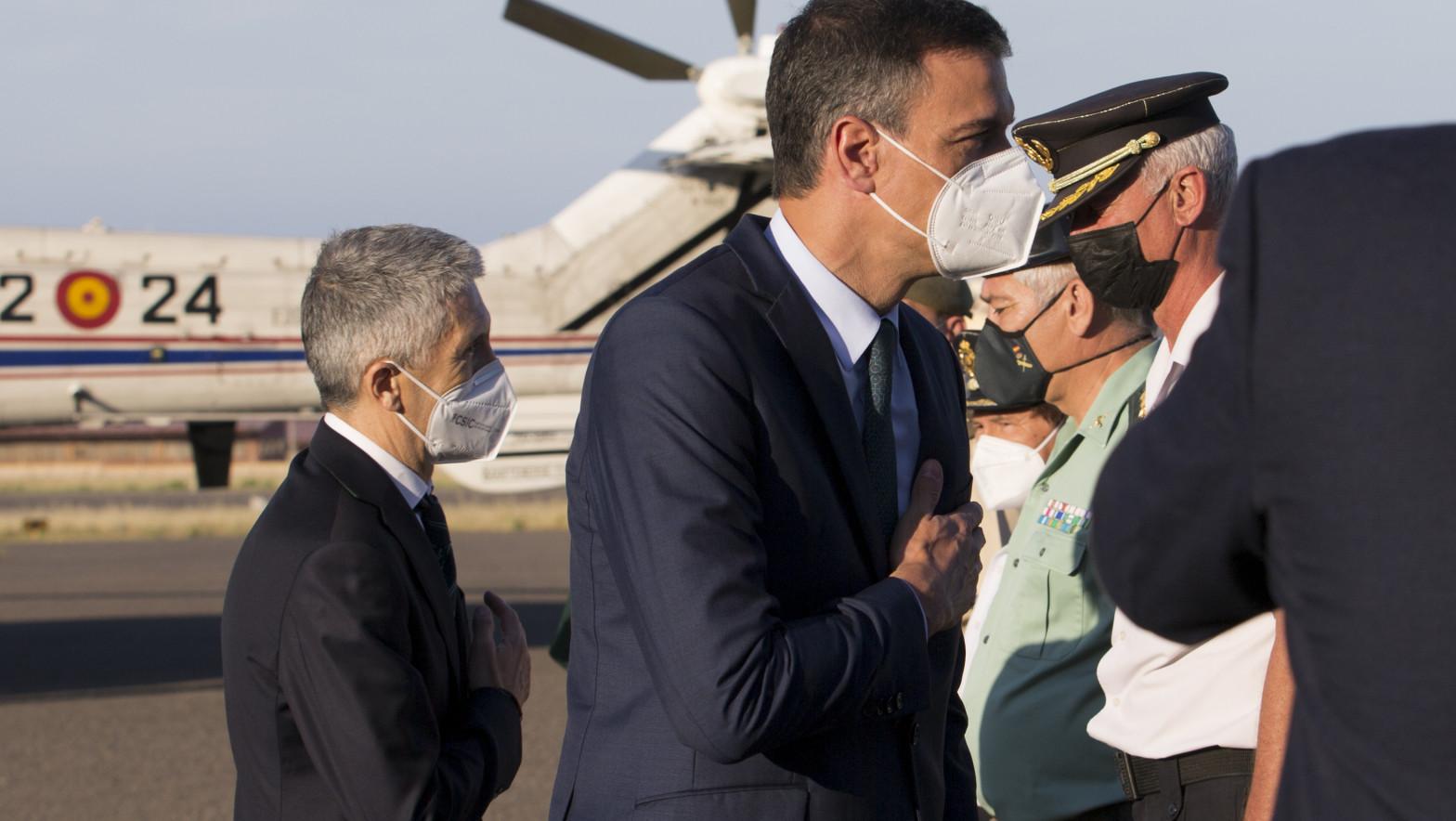 El ministro Grande-Marlaska dice que lo ocurrido en Ceuta no es una crisis migratoria