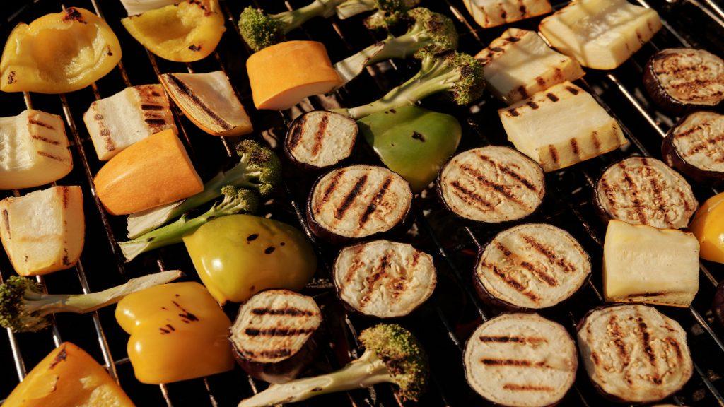 barbacoa saludable salud parrilla cancer vegetales