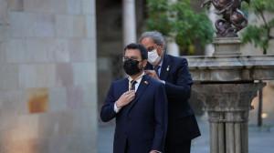 """Aragonès promete su cargo """"de acuerdo con la voluntad popular de la ciudadanía de Cataluña"""""""