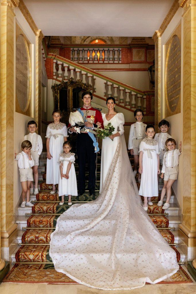 Fotos de la boda de Carlos Fitz-James Stuart y Belén Corsini