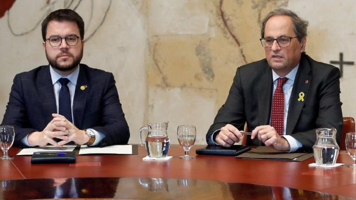 Torra colocará la medalla de presidente a Aragonès en la toma de posesión del cargo este lunes