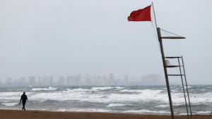 Continúan las lluvias fuertes en el sur de Levante y Baleares