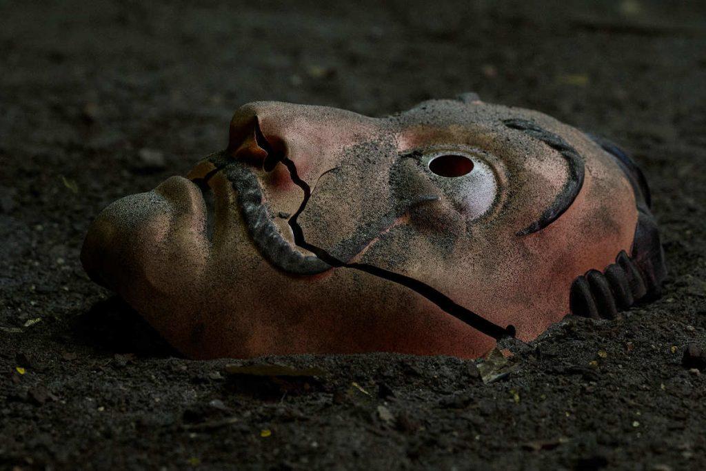 Máscara de Dalí, en la temporada 5 de 'La casa de papel'.