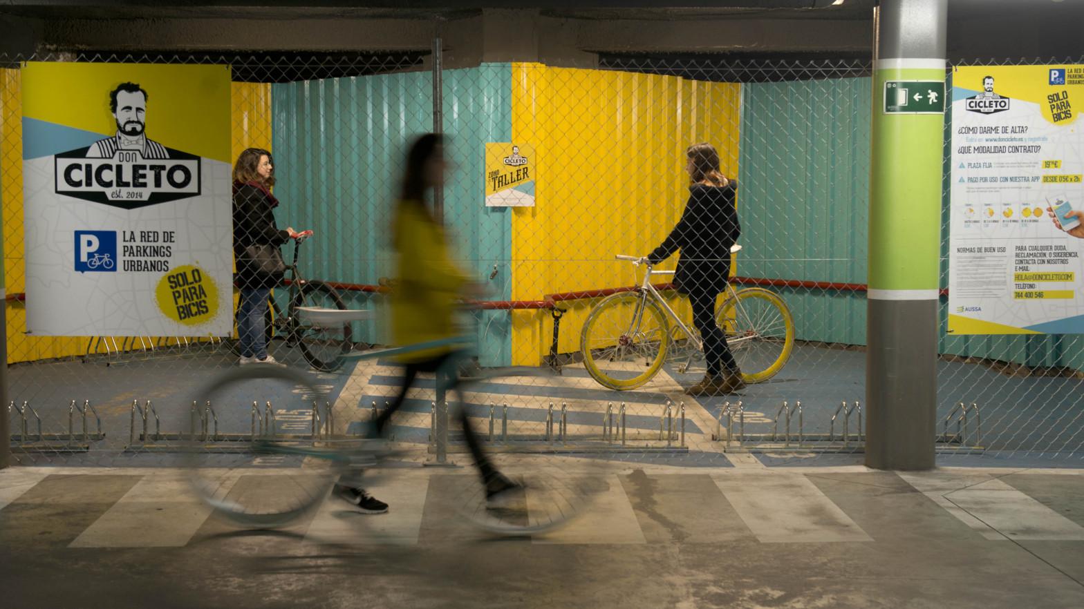 Cabify ofrece parking de bicicletas a través de Don Cicleto