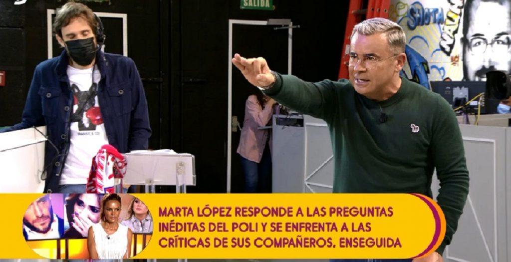 Jorge Javier Vázquez se enfada y le echa la bronca a Kiko tras mencionar al juez Calatayud.