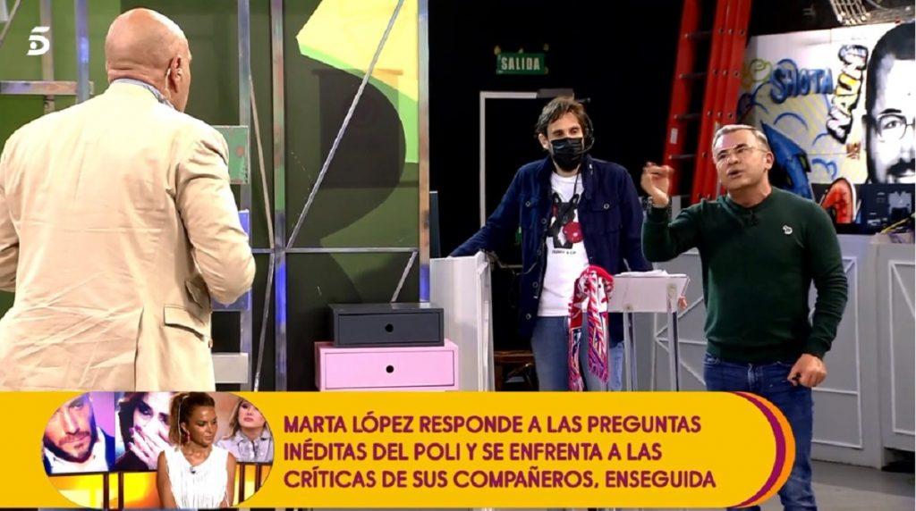 Jorge Javier Vázquez y Kiko Matamoros protagonizan una fuerte discusión en Sálvame