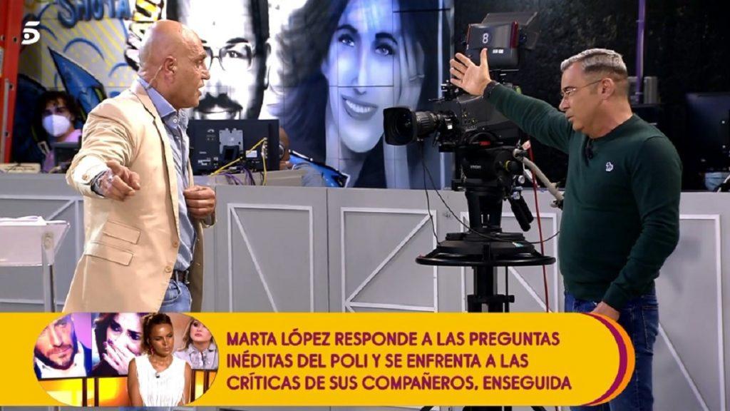 Jorge Javiez Vázquez se enfada y echa a Kiko Matamoros del plató de Sálvame