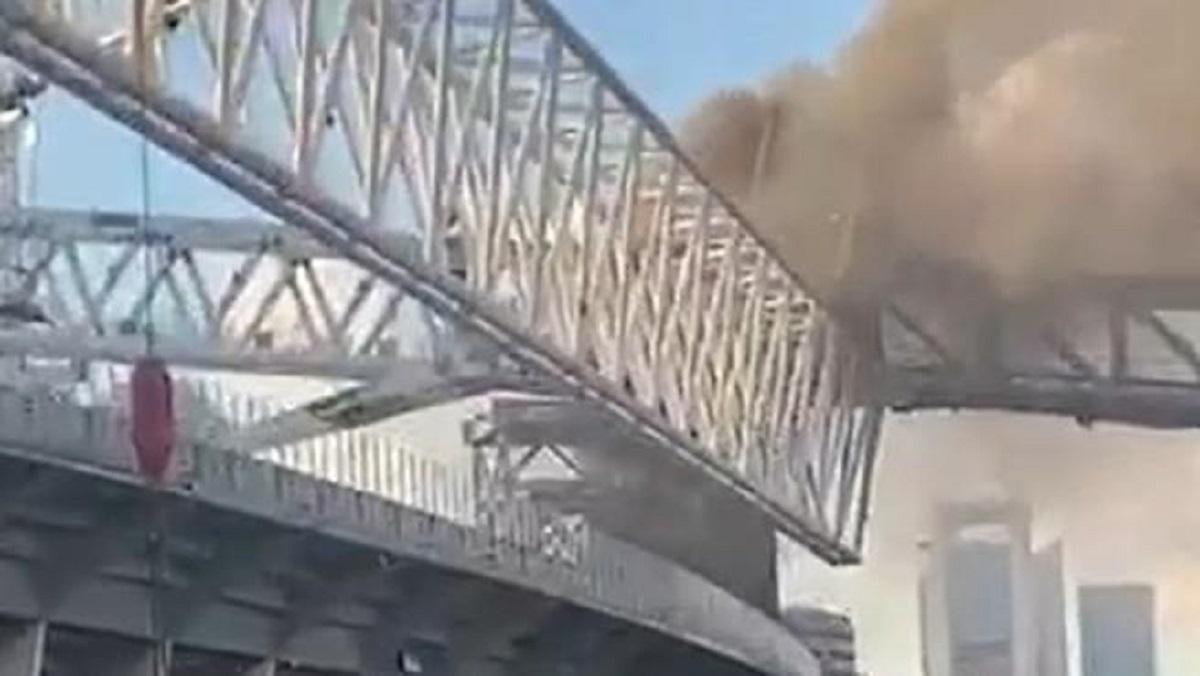 Declaran un incendio en las obras del Santiago Bernabéu