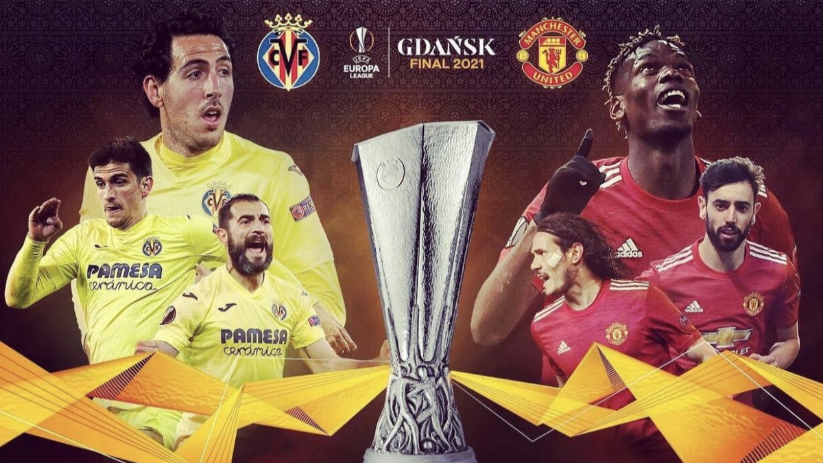 Manchester United - Villarreal: horario y dónde ver la final de la Europa League