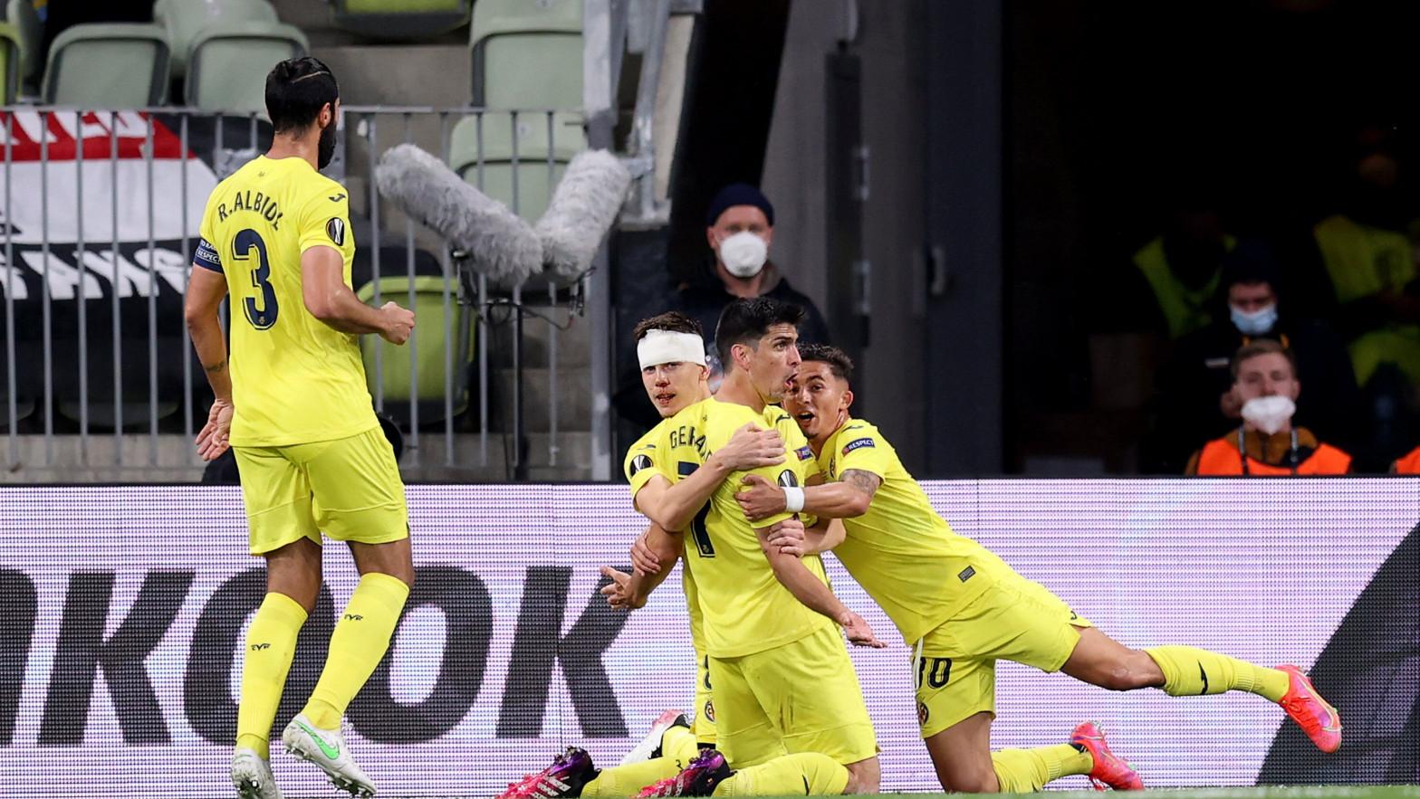 El Villarreal, campeón de la Liga Europa al vencer al Manchester United en los penaltis