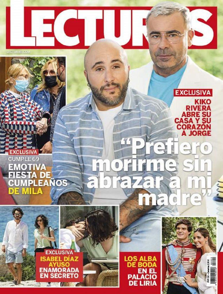 Portada de revista de Isabel Díaz Ayuso con su nuevo novio en Ibiza
