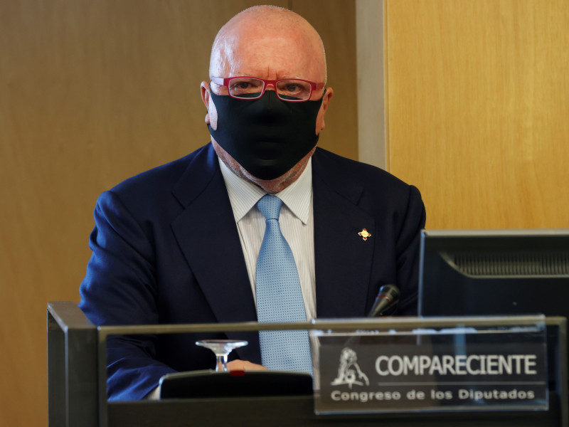 Villarejo custodió una carpeta con 98 folios de la operación Cataluña en su celda