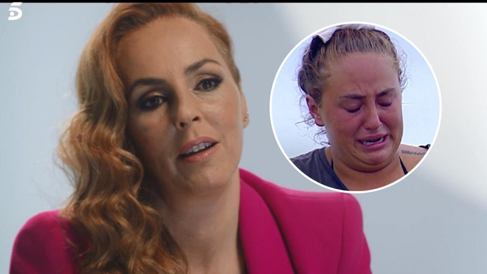 Rocío Carrasco no se cree las lágrimas de su hija Rocío Flores