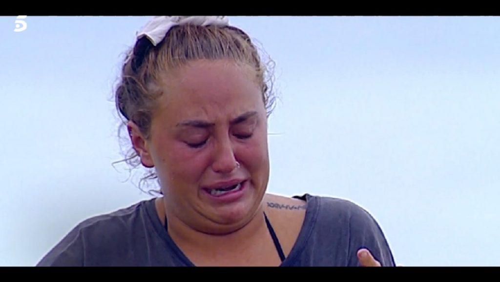 Rocío Flores lloró por su madre varias veces en Supervivientes 2020