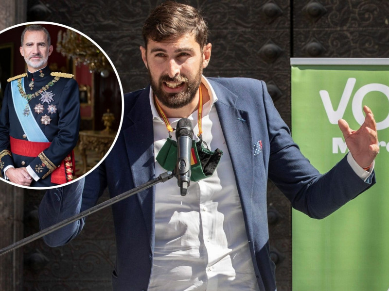 Vox quiere que en en los colegios de Murcia suene el himno de España, haya una bandera y una foto del Rey (2)