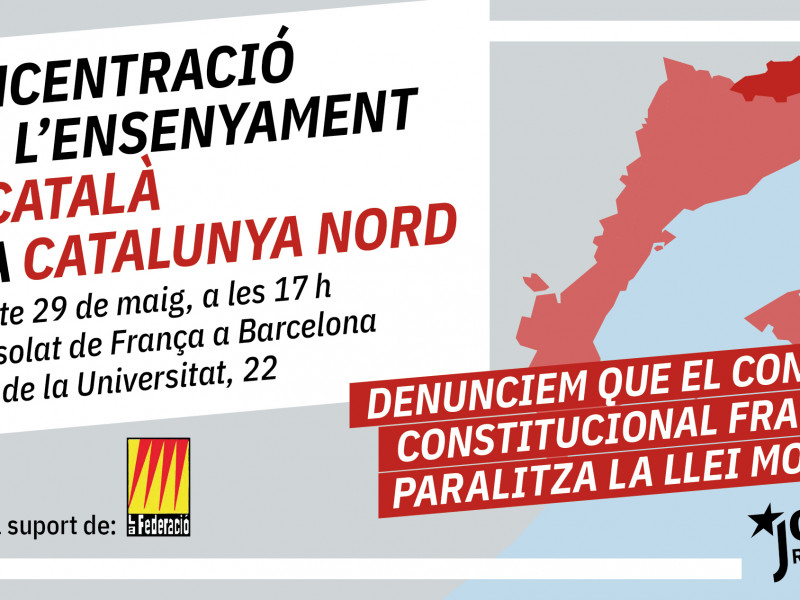 El nacionalismo protesta en el sur de Francia para defender la inmersión en catalán