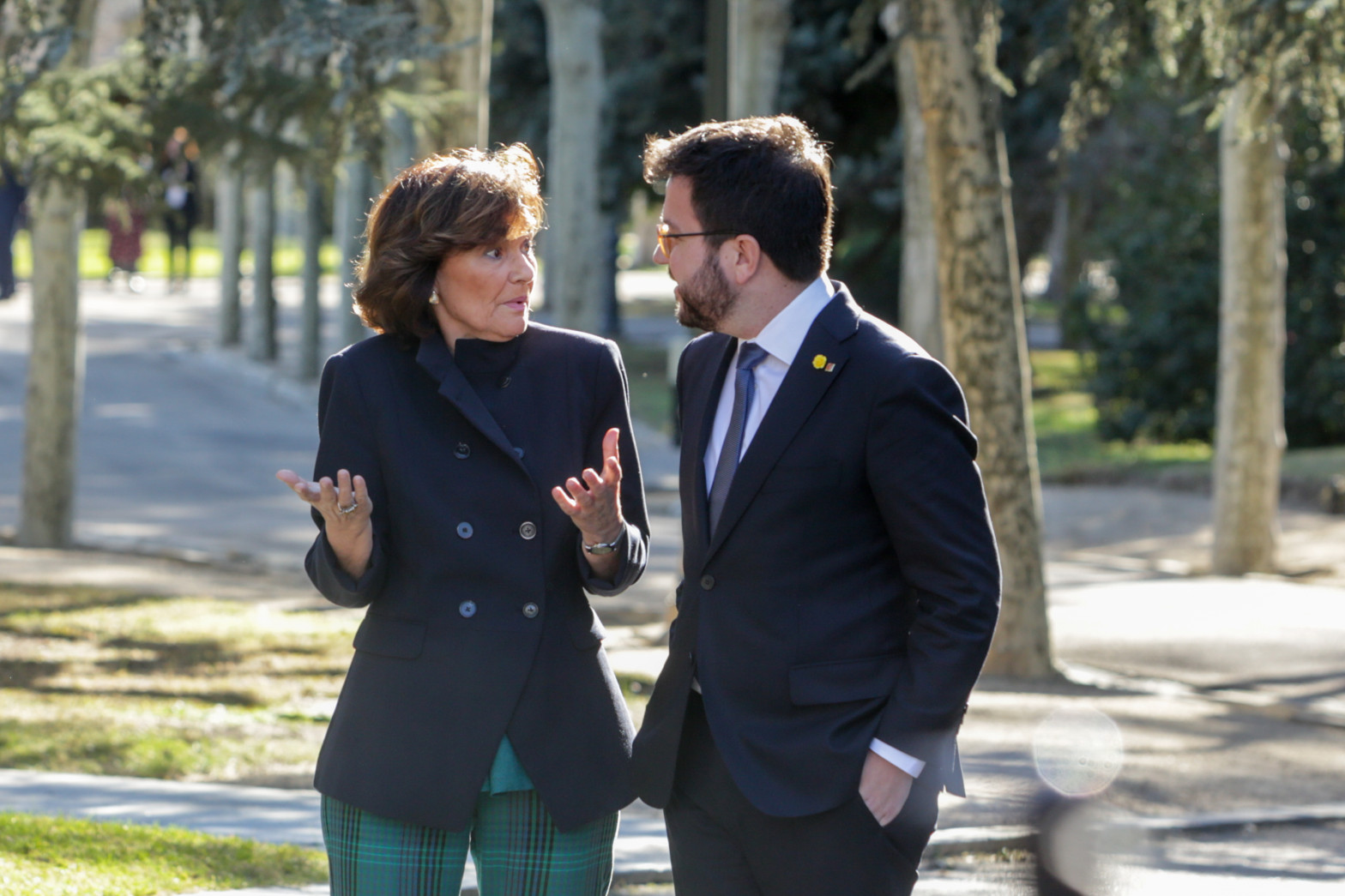 """Aragonès pone fecha a la mesa de diálogo y el Gobierno promete asumir """"el coste de los indultos"""""""