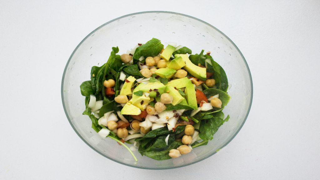 ensaladas verano nutritivas proteinas grasas
