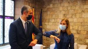 Consejera catalana anuncia que hará política exterior de Estado y que Puigdemont tendrá un papel activo
