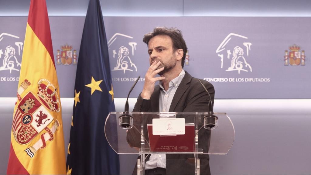 Unidas Podemos emplaza a abordar ya la reforma del delito de sedición para reforzar la concesión de los indultos