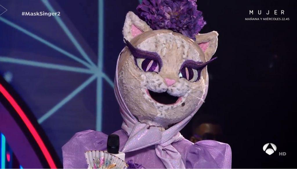La máscara de Gatita era Isabel Preysler