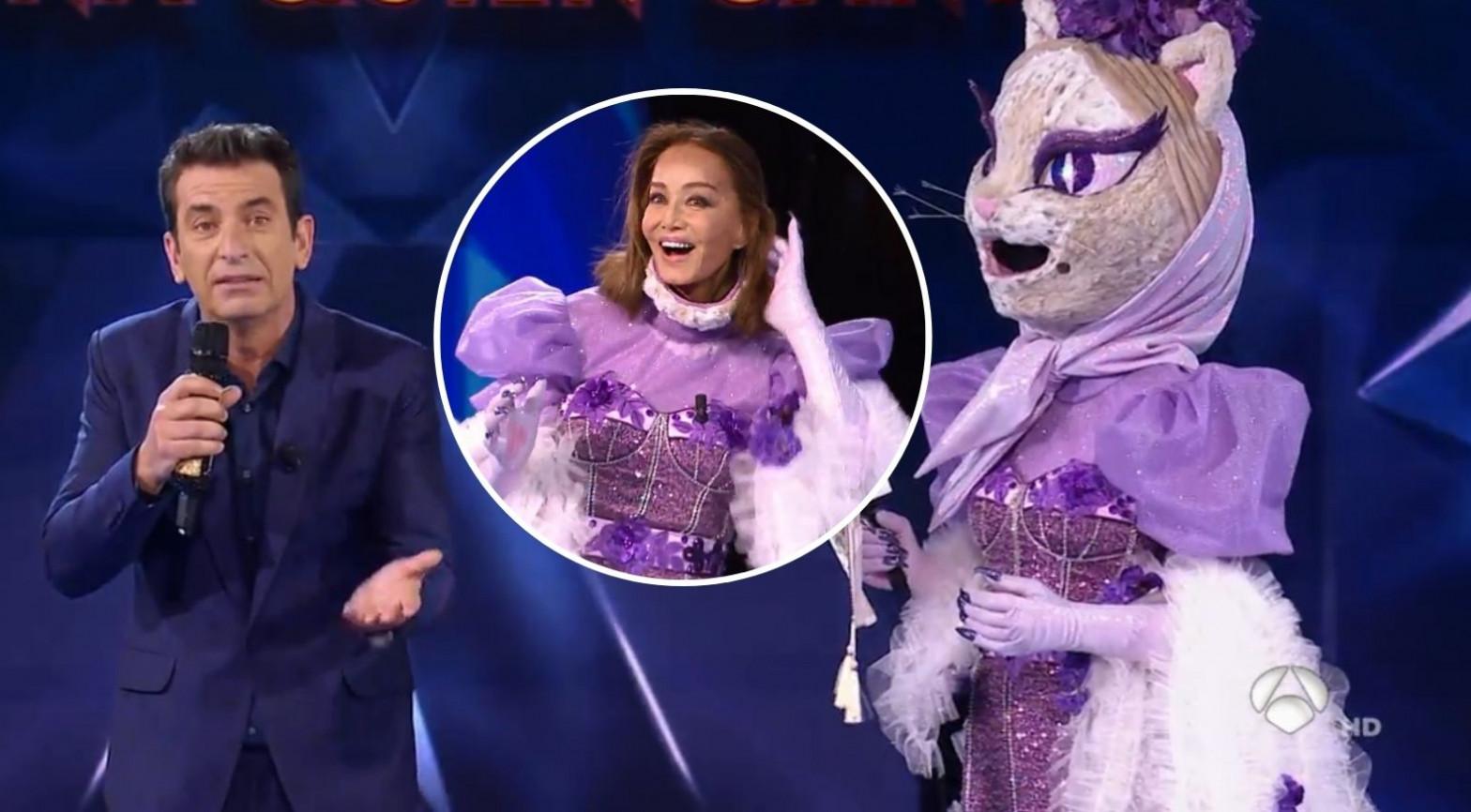 Isabel Preysler estaba bajo la máscara de Gatita en Mask Singer