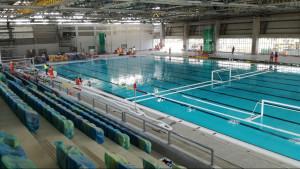 Una piscina olímpica.