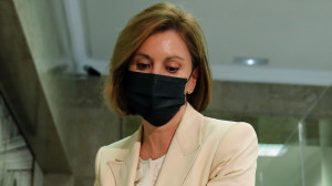 La ex secretaria general del PP y expresidenta de Castilla-La Mancha, María Dolores de Cospedal