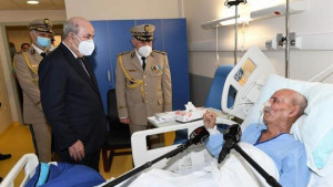 El líder del Frente Polisario reaparece tras recibir la visita del presidente de Argelia