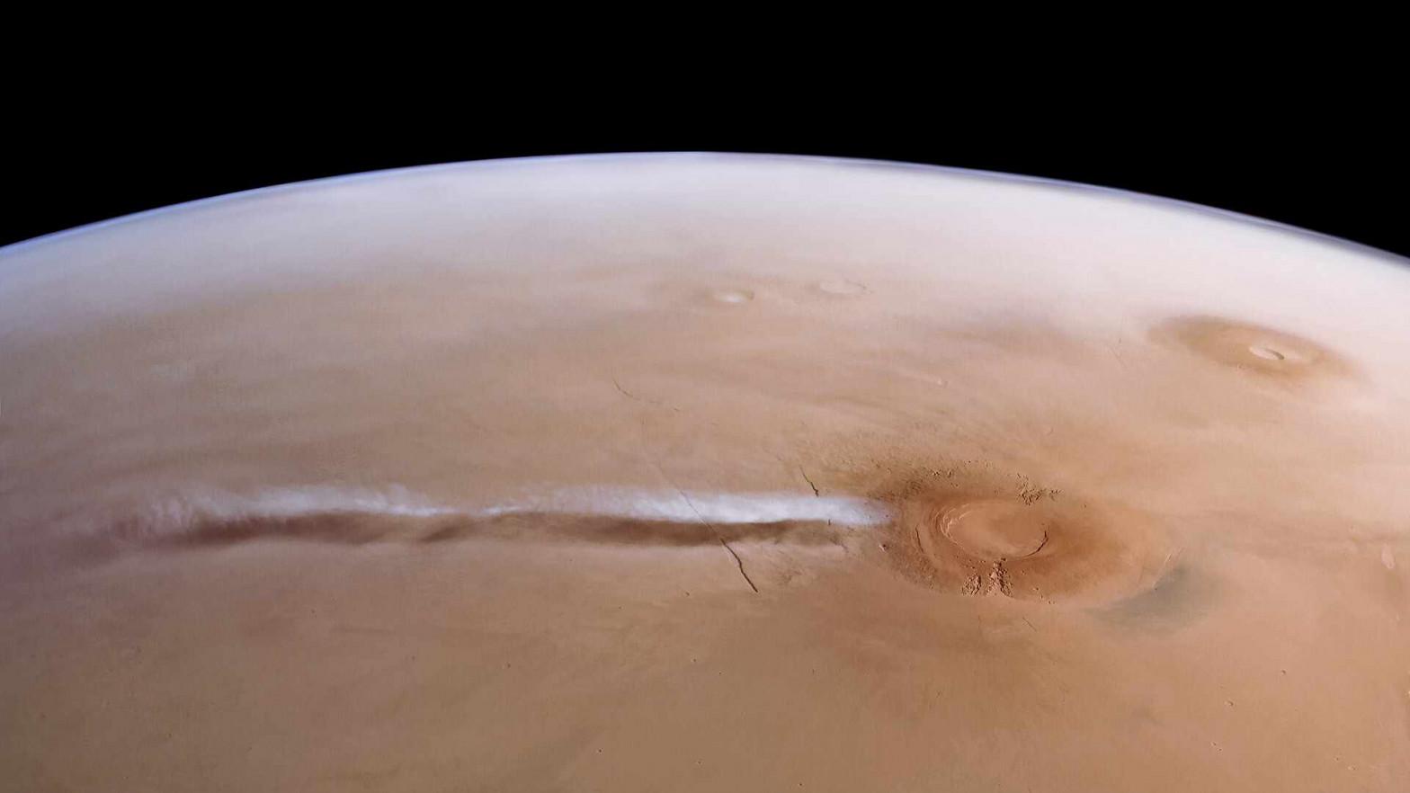 Historia de una nube marciana