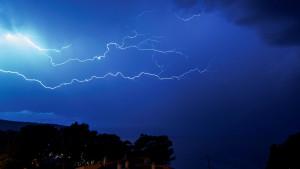 Tormentas fuertes en Mallorca, Menorca y Pirineos